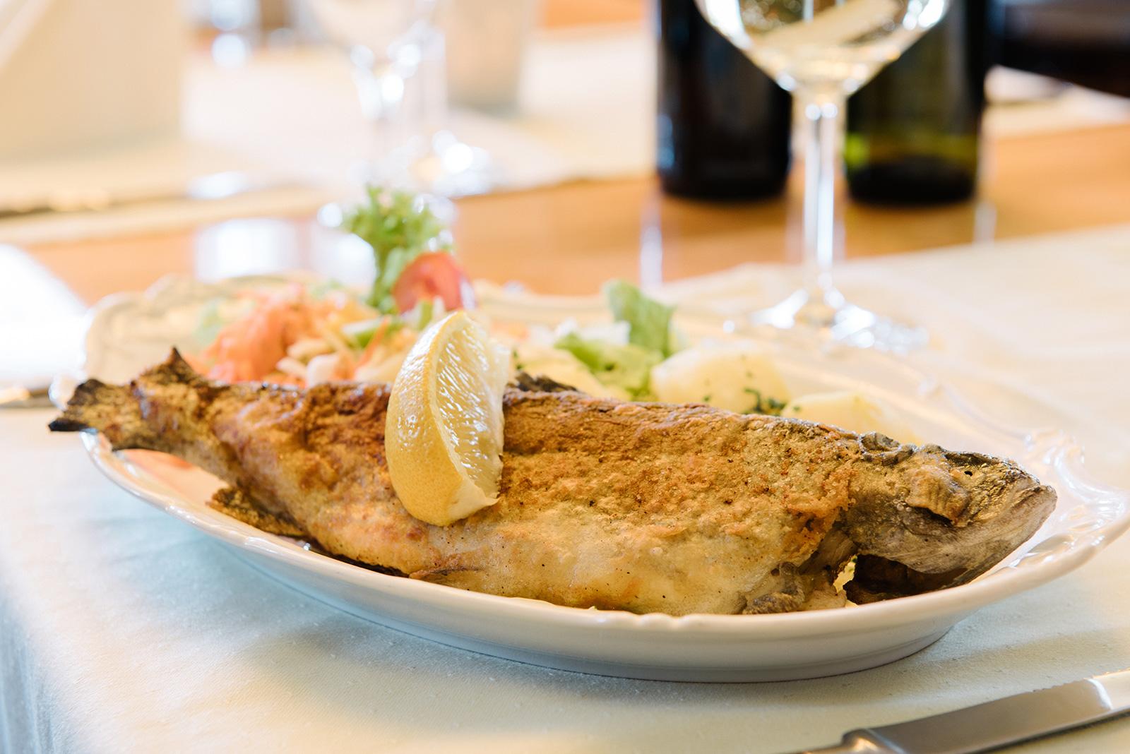 Restaurant Sächsischer Hof Weimar - Forelle