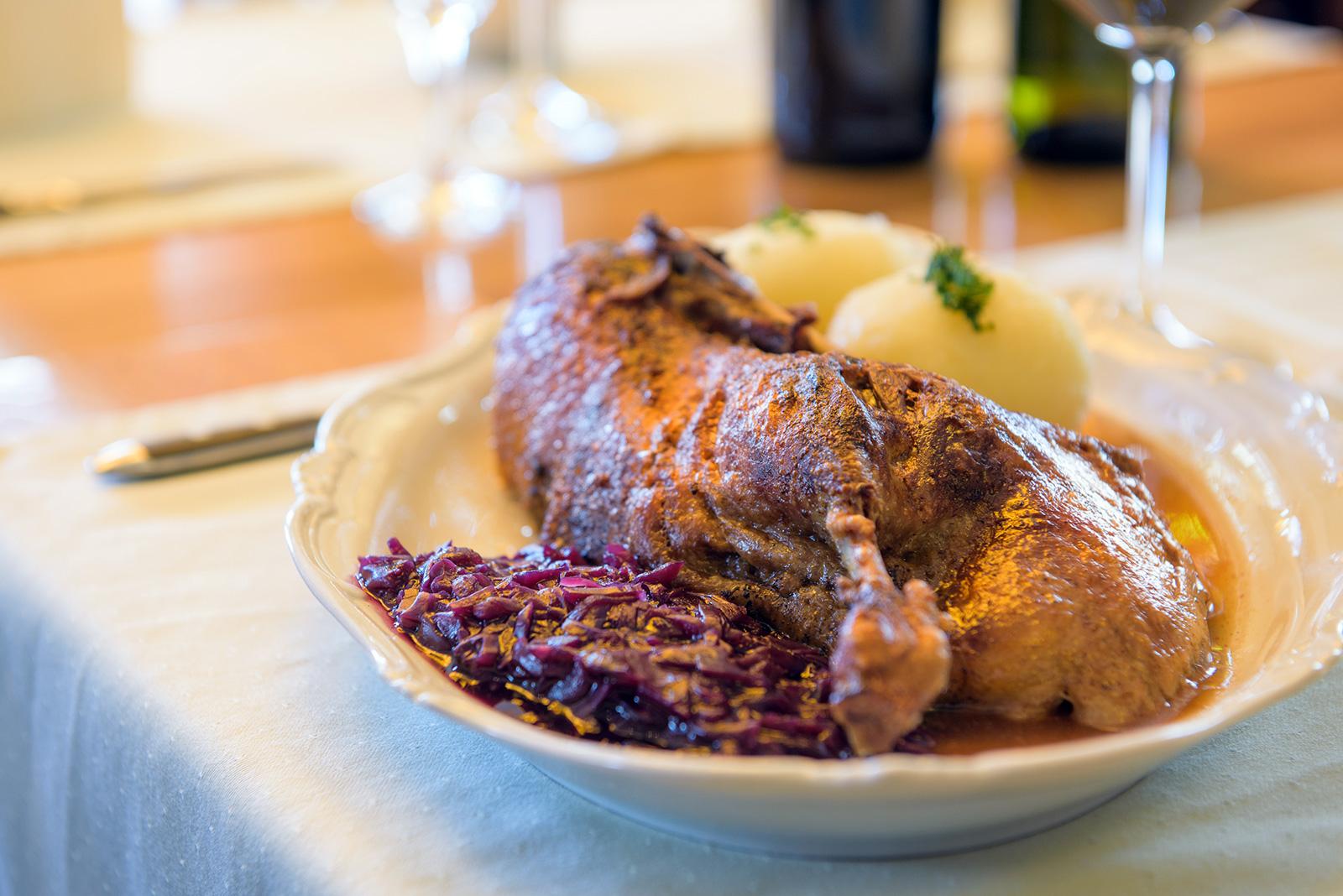 Restaurant Sächsischer Hof Weimar - halbe Ente